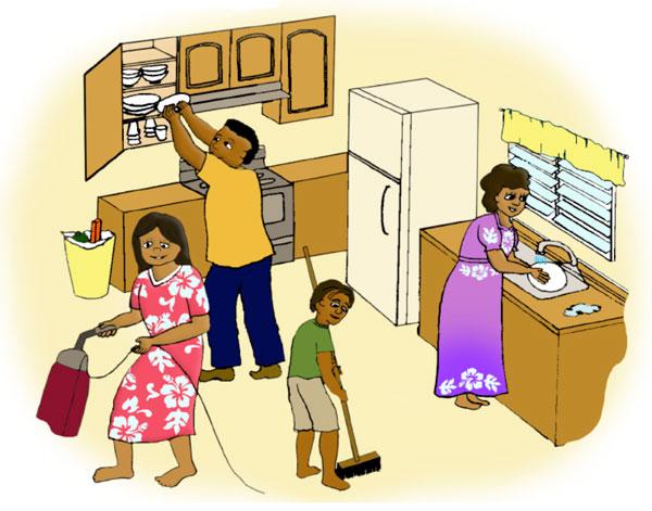 Las tareas de la casa a1 a2 hispanic horizons - Limpieza en casa ...
